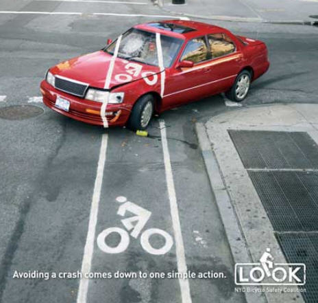 usa nyc bike car conflict The View from the Street: How Mutual Respect Makes for Safer Streets