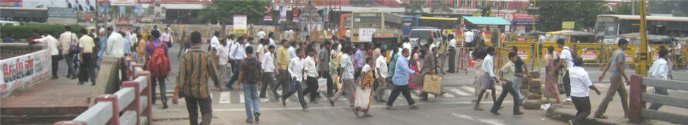 india-bangalore-ped crossing