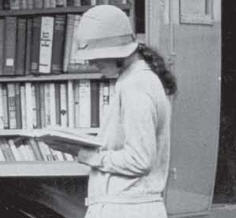 girl reeading book