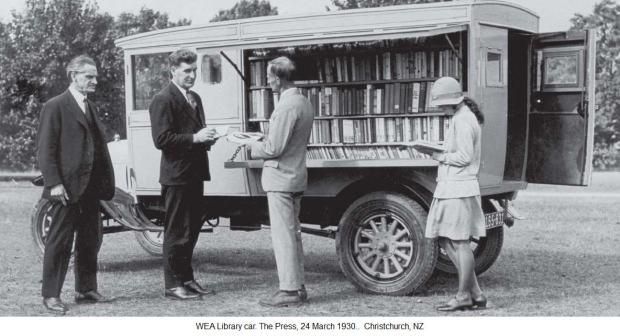 Library Car NZ