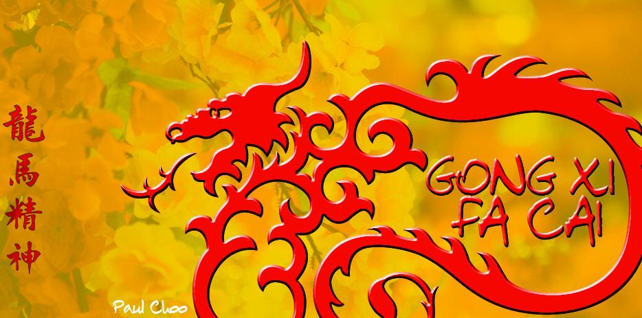 chinese new year 2013 - Gong Xi Fa Cai