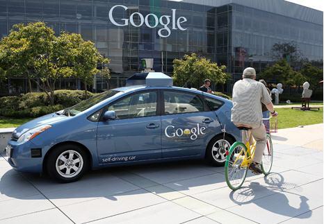 driverless car google