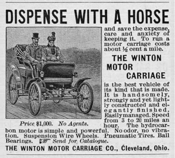 Dispense with a horse