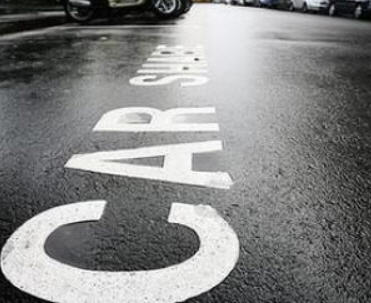 carshare street marking