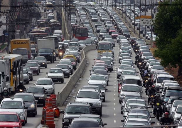 brazil sao paulo heavy traffic - source  www.ourhomeinbrazil