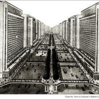Le Corbusier Radiant City car