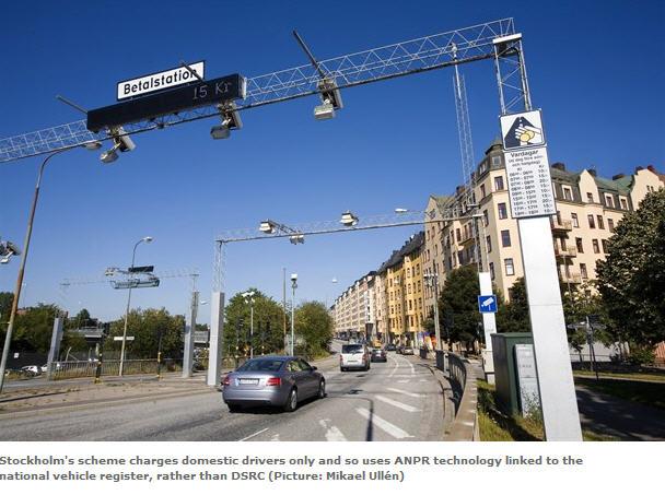 sweden stockholm congestoin charging