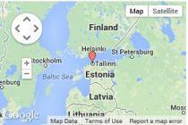 map estonia tallinn
