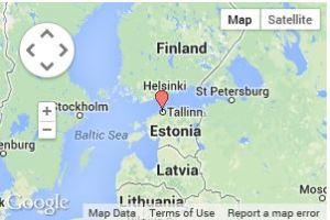 map estonia tallinn