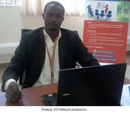 uganda.kampala-Richard, UST-Network chairperson
