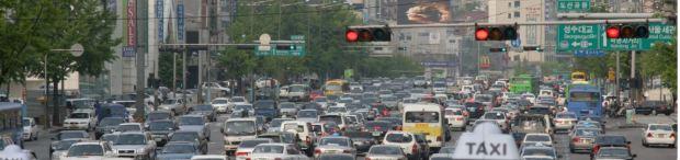korea busan traffic
