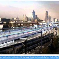 UK Norman Foster bicycle highway