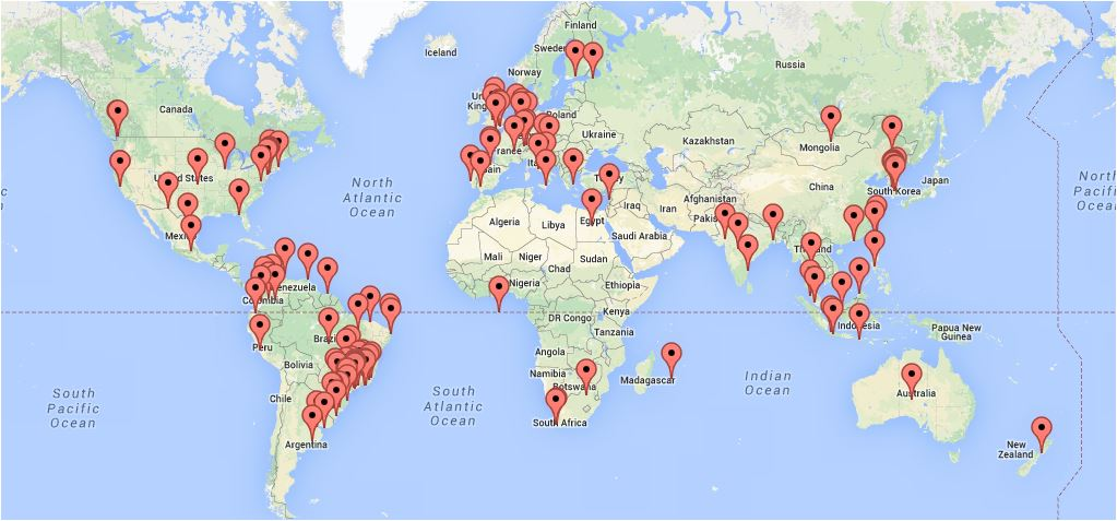 Who where in the world is looking at world car free days this map wcfd 22aug14 gumiabroncs Choice Image