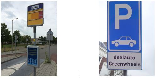 netherlands bus stop vs. carshare place