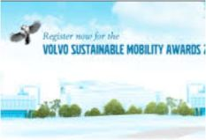 volvo sutainble transport award