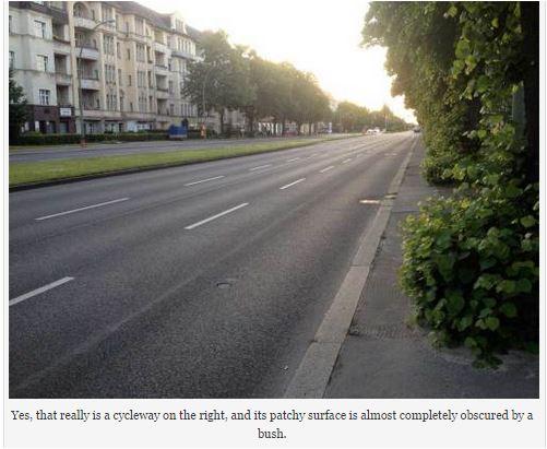 geremany belin cycling path maintenance - Alternative DOT