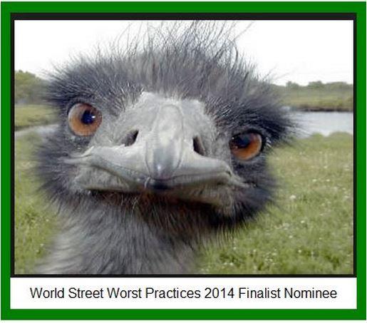 WS Worst Practices ostriche