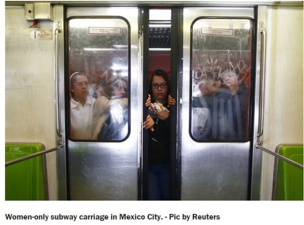 mexico - women only metro