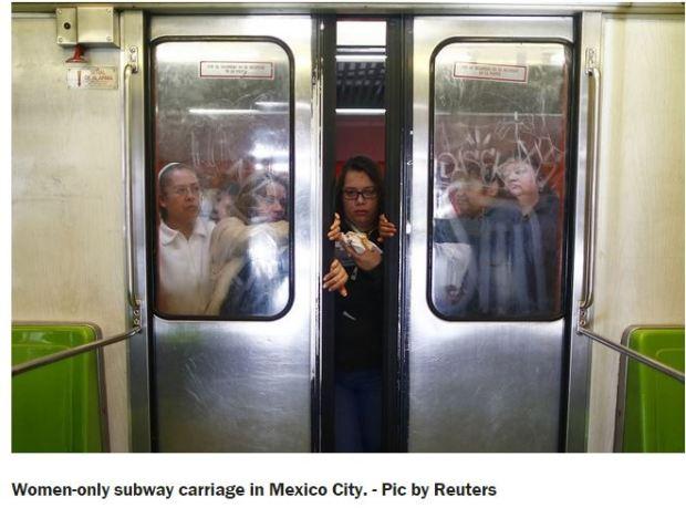 mexico - women only metro