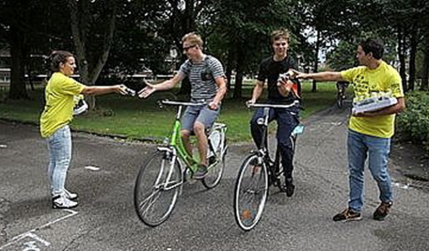 Netherlands Groningen cycling education program
