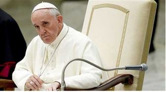 Pop Francis listening critically
