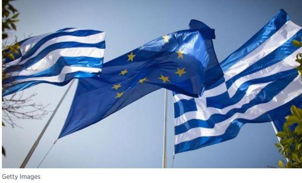 greek europe flags