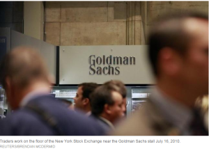 Bond traders goldman Sachs