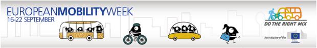 Euroepan Mobility Week banner
