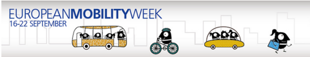 European mobility week 2015 - page banner
