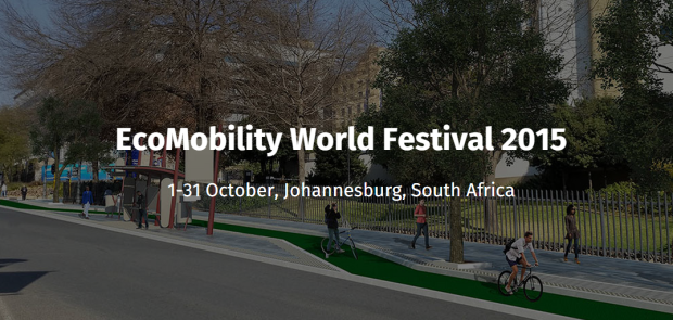 EcoMobility World Festival Joburg ICLEI site banner