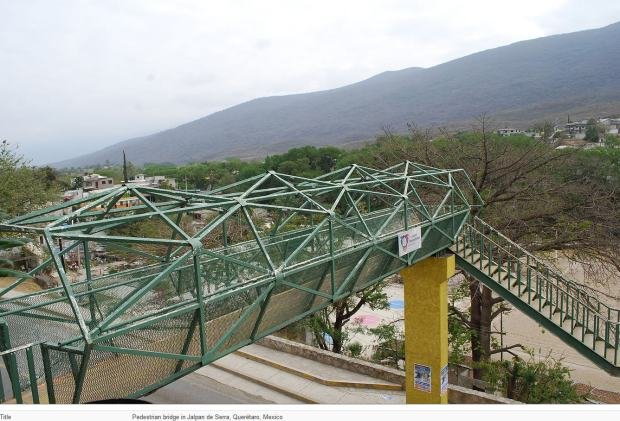 mexico pedestrian bridge