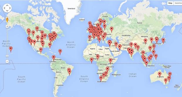 Map -WS recent visitors 27jan16