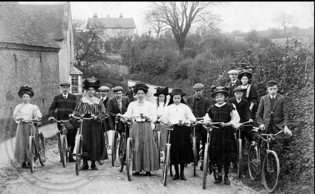 Lozells cycle club Birmingham UK 1909