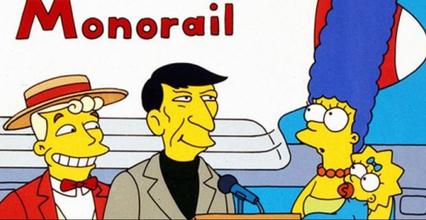 monorail Simsons Marge