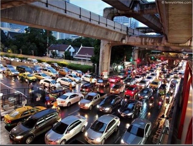 Bangkok Skytrain - problem solved