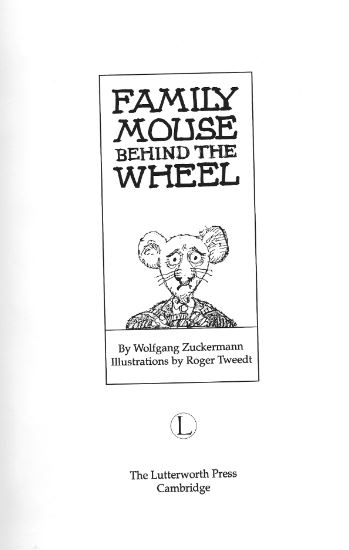 Family Mouse - inside title page