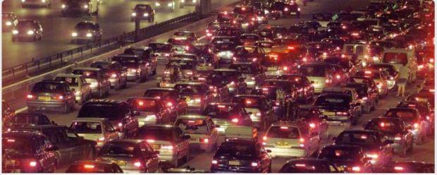 france paris peripherique traffic jam