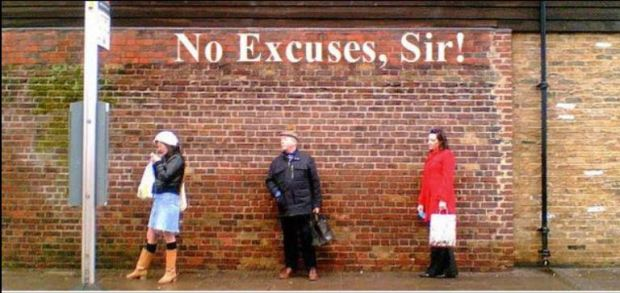 no excuses sir 2