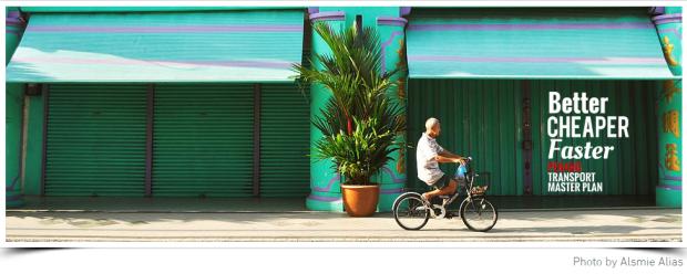 Penang BCF gent on bike beautiful