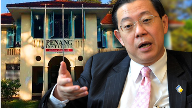 Penang Chief Minister and Penang insitute