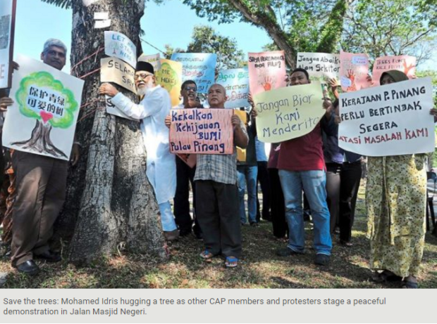penang-save-the-trees-demontration-cap