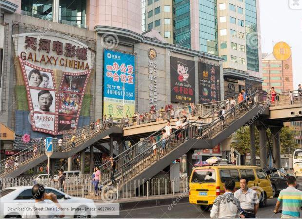 china-guangzhou-city-pedestrian-flyover
