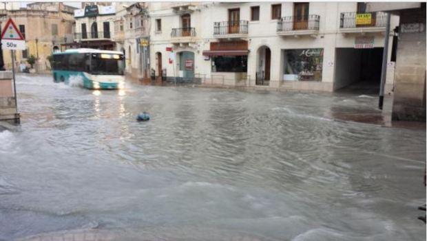 malta-flooded-street