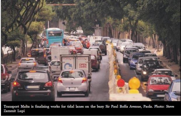 malta-tidal-lanes-counter-flow-lanes-in-specific-hours