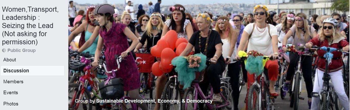women cyclists turkey manifestation