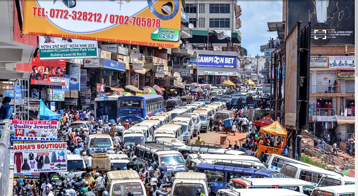 kampala uganda traffic monster