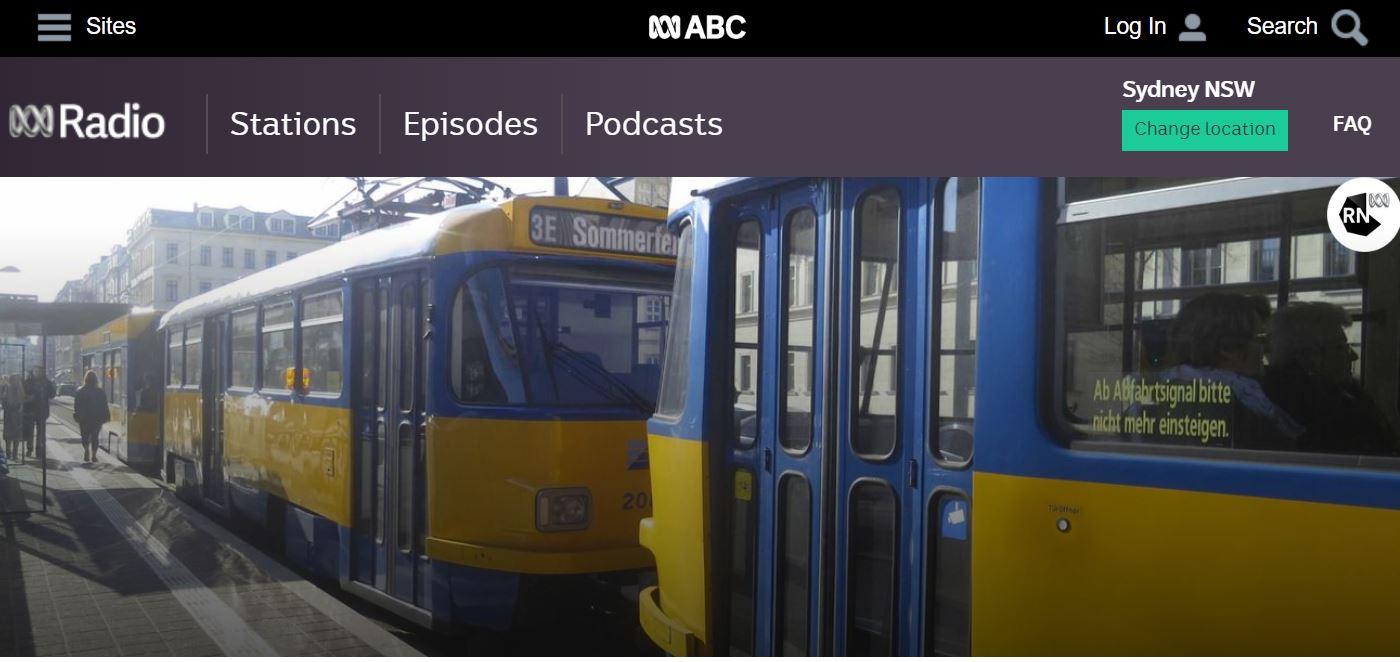 Free Public Transport australian radio master class