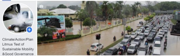 FB penang flood traffic