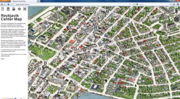 Iceland greenmap center