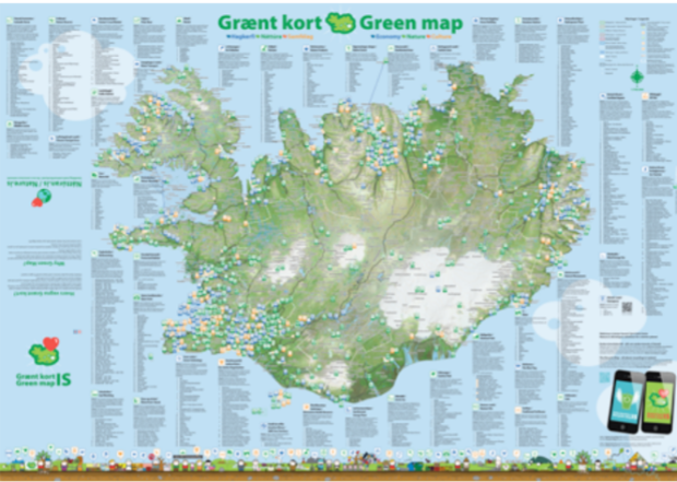 Iceland GreenMap large